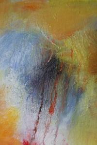 Acrylic painting detail Janice Scott
