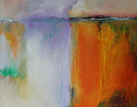 Acrylic painting Janice Scott