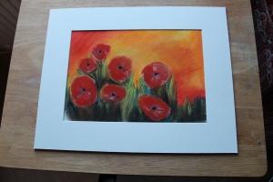 Pastel Poppies