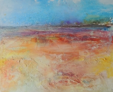 Warmscape_Mixed Media_22 x 18 in_Sold