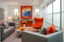 Sitting room orange